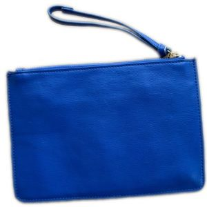 The Dot Bags - The Dot brand large clutch/wristlet, painted front